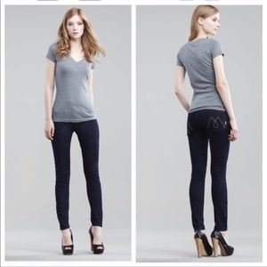 Mother Denim Looker Touch Not the Cat Skinny 26